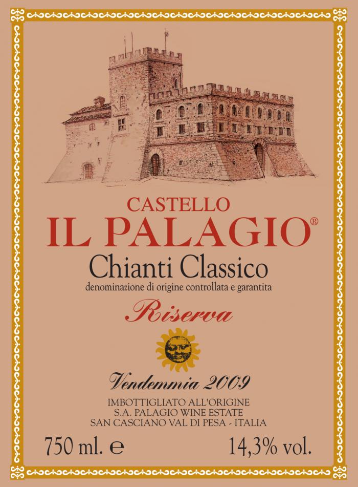 Chianti Classico Riserva 2009 Castello Il Palagio